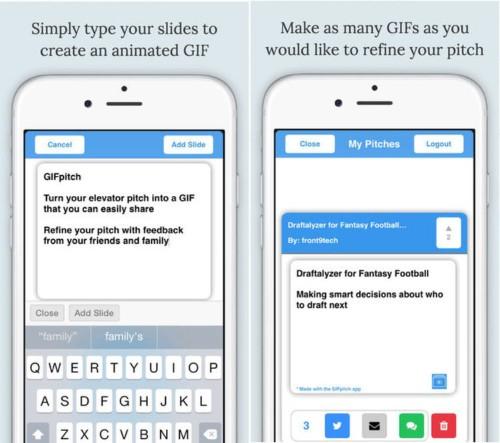 This app creates an animated GIF for your million-dollar start-up idea