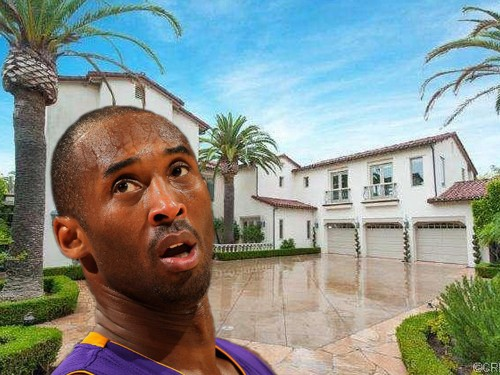 Kobe Bryant Is Selling His Orange County Estate For $8.6 Million