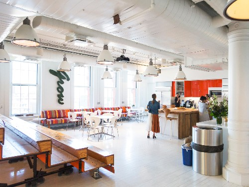 A tour of Axiom's law office in Manhattan, New York