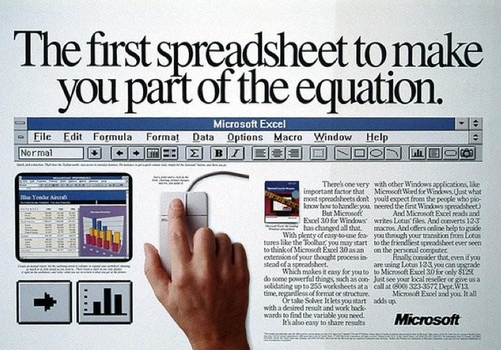 Excel - Magazine cover