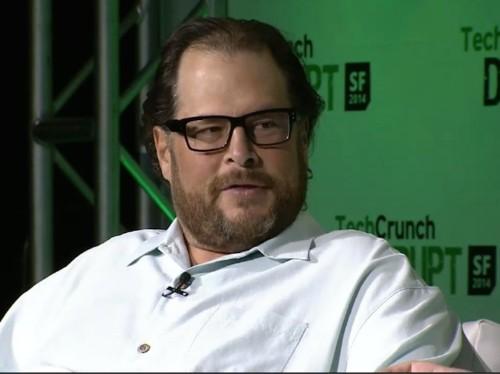 Salesforce CEO Marc Benioff: IBM, Oracle, SAP are 'big dinosaurs'