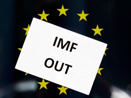IMF: NO BAILOUT FOR GREECE
