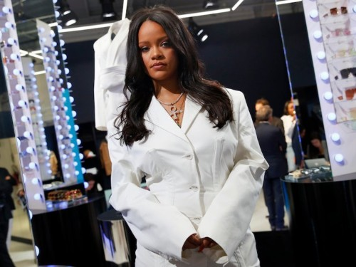 Rihanna is launching her new luxury fashion brand Fenty with a pop-up in Paris — take a peek inside