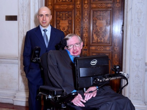 Stephen Hawking and a Russian billionaire are announcing a mysterious $100 million space exploration plan
