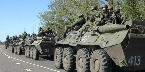 REPORT: Ukrainian Troops Attacked Russian Military Column