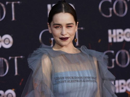 Emilia Clarke is 'sick and tired' of talking about 'Game of Thrones' nude scenes