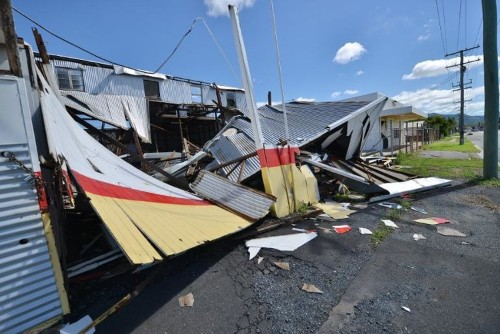 Australia is clearing up after severe cyclones left a trail of destruction