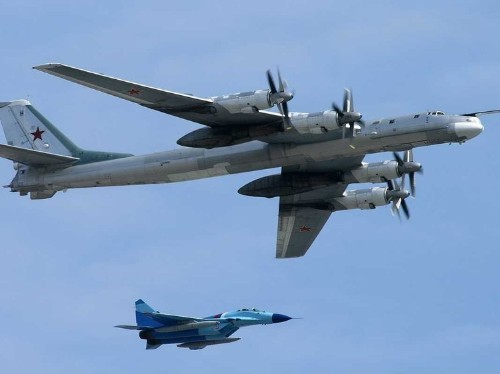 Japan says it intercepted three Russian warplanes near its borders