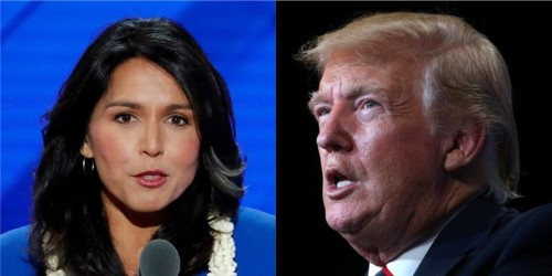 Tulsi Gabbard says Trump is making the US 'Saudi Arabia's b----' with his response to the oil field attacks