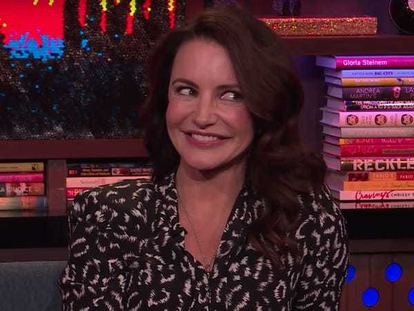 Kristin Davis 'really hated' one 'Sex and the City' sex scene - Business Insider