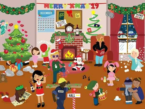 How many Christmas songs can you find hidden in this holiday brainteaser? - Business Insider