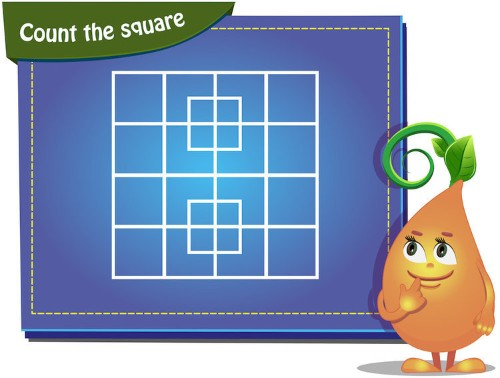 People can't figure out how many squares are in this tricky puzzle