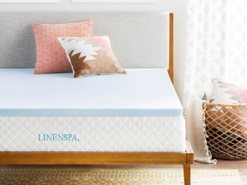 This $60 mattress topper softened my firm mattress, and helped alleviate my neck and back pain