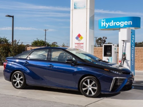 Here's how hydrogen-powered cars work