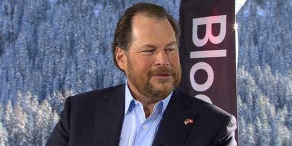 Marc Benioff says corporate climate 'net zero' is 'not that hard' - Business Insider