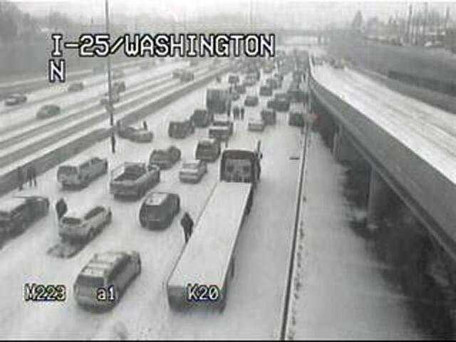 1 Killed, 30 Injured In Massive 104-Car Pileup In Colorado