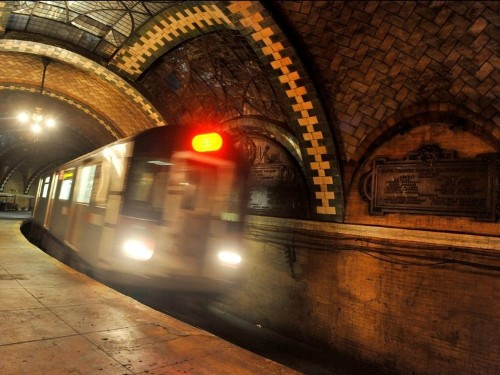 There's an abandoned subway station at the southern tip of Manhattan, and you have to pass a background check to visit