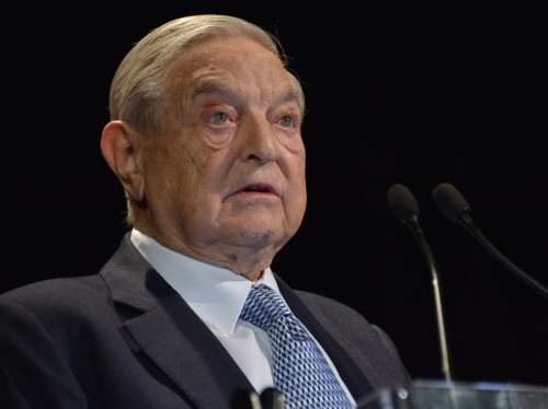 GEORGE SOROS: 'These times are not business as usual. Wishing you the best in a troubled world'