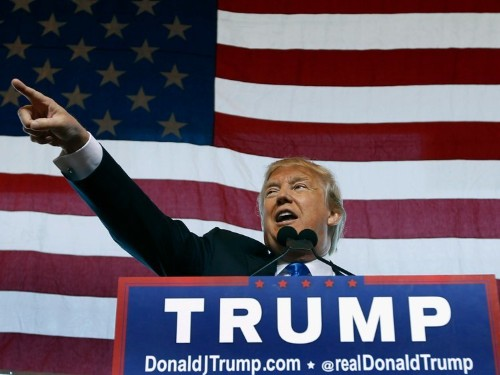 Donald Trump changes tune on wages after Bernie Sanders broadside