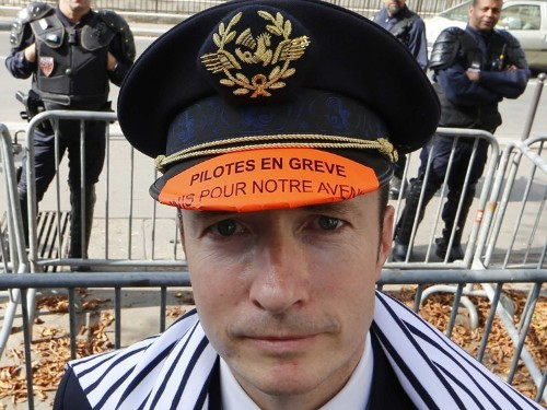 Air France Puts Cost Of Pilots Strike At 500 Million Euros