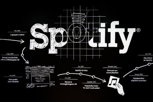 Spotify, a music streaming service going for broke
