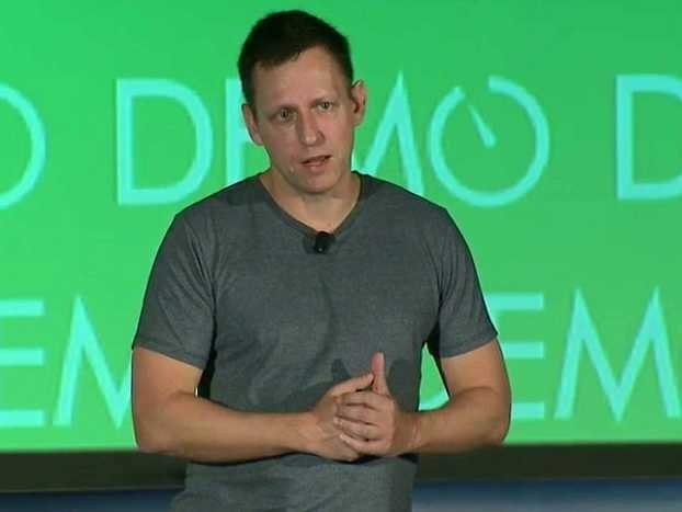 Peter Thiel: People Are Scared Of The Future And Silicon Valley Doesn't Get It