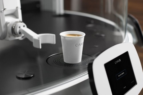 A 23-year-old college dropout just opened a robot-powered coffee kiosk in San Francisco