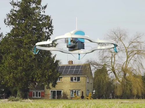 Amazon is thinking about using its delivery drones to scan your house to sell you more stuff