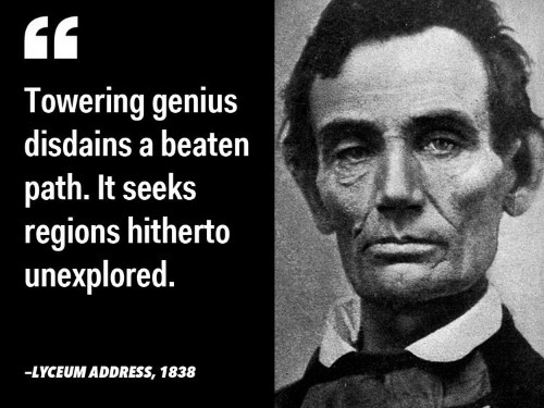 13 inspiring quotes from Abraham Lincoln on liberty, leadership, and character