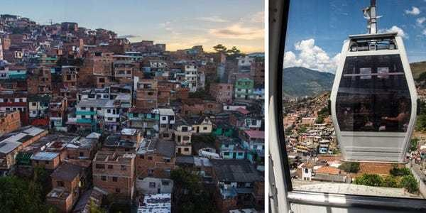 Medellín Metrocable: What using cable cars that changed city is like - Business Insider