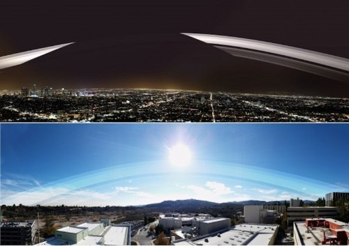 A NASA expert has revealed the most realistic renderings of how Earth would look with Saturn's rings