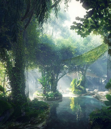 Dubai is building the world's first hotel with its own rainforest — here's what it's like inside