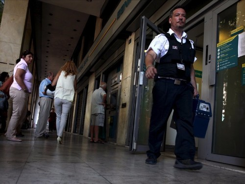 Greek banks re-open today, and a lot of people are psyched to get back into their deposit boxes