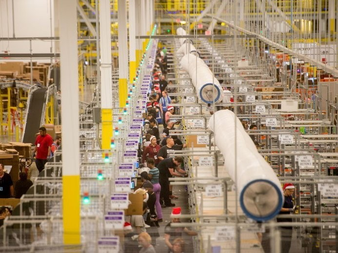 Amazon has become less efficient in one key area of its business
