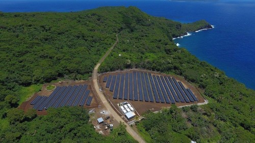The new Tesla is powering an entire island with solar energy