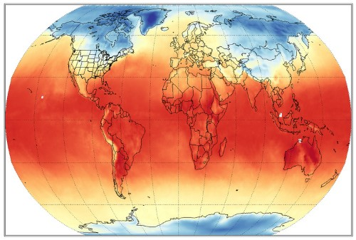 Here's where over 90% of the extra heat from global warming is going and the billions of dollars it's costing us