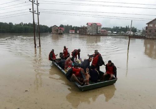 Torrential rains kill more than 230 in Pakistan, India