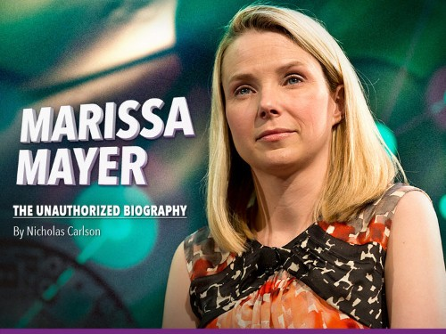 The Truth About Marissa Mayer: An Unauthorized Biography
