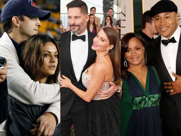 Celebrity couples celebrating milestone anniversaries in 2020 - Business Insider
