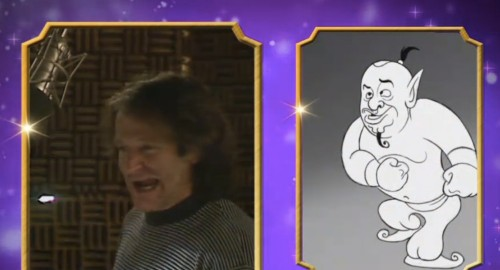 Disney just released never-before-seen footage of Robin Williams as the Genie in 'Aladdin'