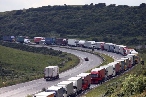 George Osborne has agreed to allow driverless 'road trains' on UK motorways by 2020