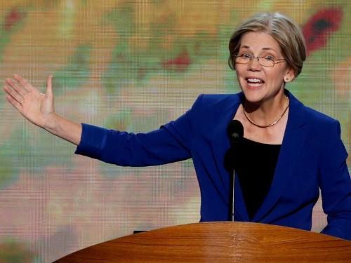 Elizabeth Warren Has Thrown Her Support Behind Janet Yellen For Fed Chair