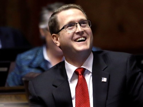 A Washington state lawmaker is under FBI scrutiny for writing a how-to guide on killing non-believers in a 'holy war' and establishing a theocracy