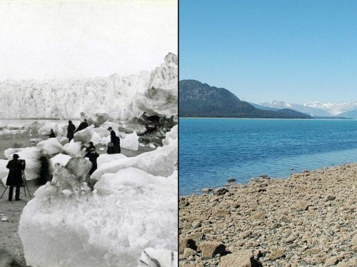 Before-and-after pictures show how climate change is destroying the Earth