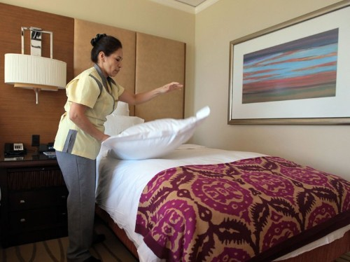 10 things hotel maids wish they could tell you, but can't