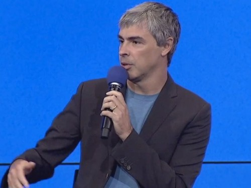 Google's Larry Page was asked whether he was worried about the rise of ad blockers — here's what he said