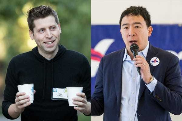 Andrew Yang and his loyal 'knights' of Silicon Valley - Business Insider