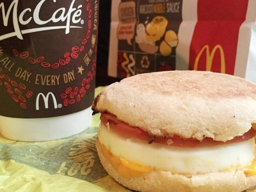 Fast-food chains focus on one factor when creating a breakfast menu