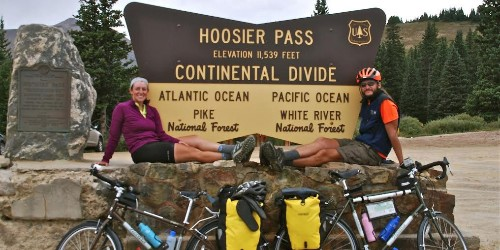 Couple quit their jobs to bike over 4,000 miles across the US on $6,000