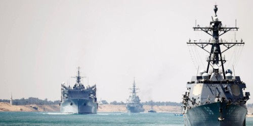 Iran warns US warships are in range of its missiles as 2 destroyers sail into the Persian Gulf